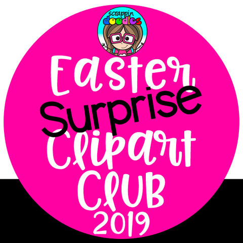 Easter Surprise Clip Art Club 2019 {Approx $17 Value}