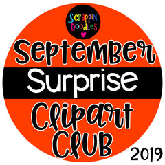 September Surprise Clip Art Club 2019 {Approx $18 Value}