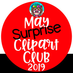 May Surprise Clip Art Club 2019 {Approx $17 Value}