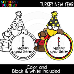 Turkey New Year Clip Art Years Eve