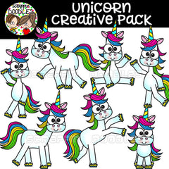 Unicorn Creative Pack {63 graphic bundle}