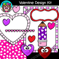 Valentine Design Kit