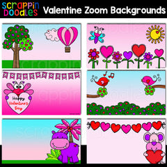 Valentine Zoom Backgrounds