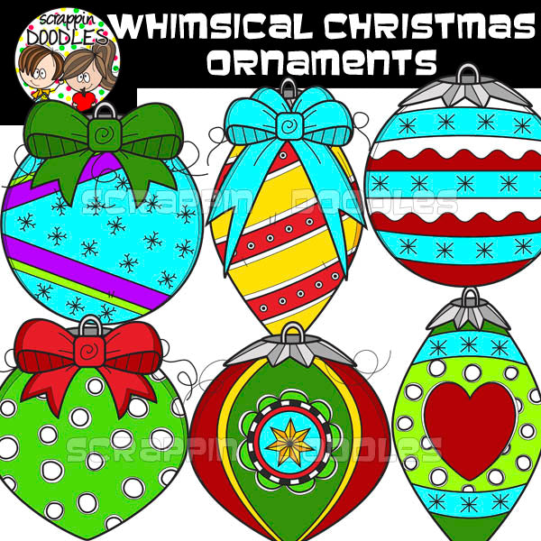 Whimsical Christmas Ornaments