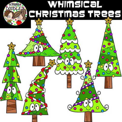 Whimsical Christmas Trees