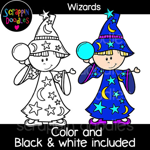 Wizard Clip Art Magic