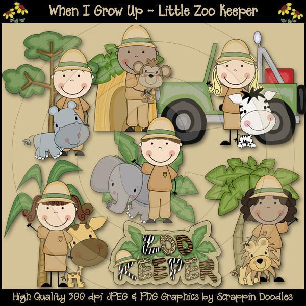 When I Grow Up - Little Zoo Keeper Download