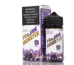 PB & Jam Grape - Jam Monster 100ml