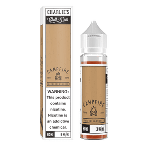 Charlie's Chalk Dust - Campfire Ejuice - 60ml - Ejuicesteals.com
