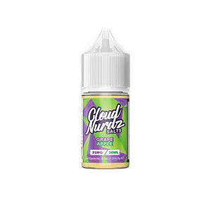 Cloud Nurdz Salts - Grape Apple Ejuice - 30ml - Ejuicesteals.com