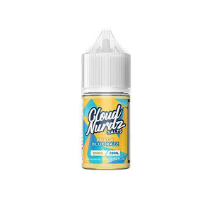 Cloud Nurdz Salts - Peach Blue Razz Ejuice - 30ml - Ejuicesteals.com