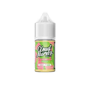 Cloud Nurdz Salts - Watermelon Apple Ejuice - 30ml - Ejuicesteals.com