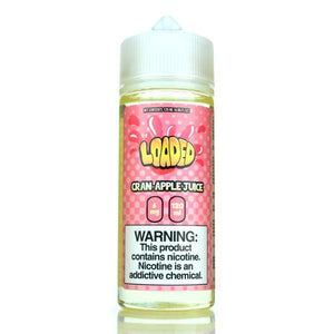 Cran Apple Loaded E-Liquid 120ml