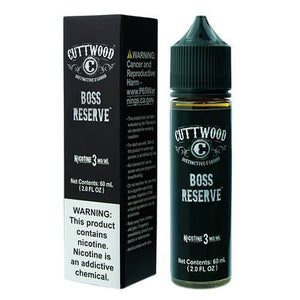 Cuttwood - Boss Reserve Ejuice - 60ml - Ejuicesteals.com