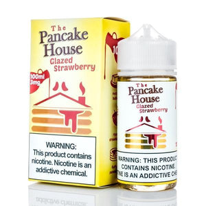 The Pancake House - Glazed Strawberry Ejuice - 100ml - Ejuicesteals.com
