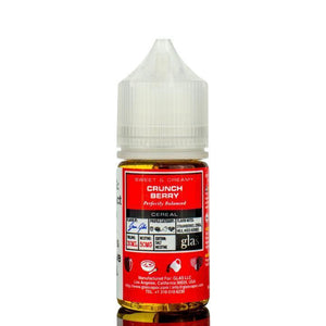 Glas Basix Nic Salts - Crunch Berry Ejuice - 30ml - Ejuicesteals.com