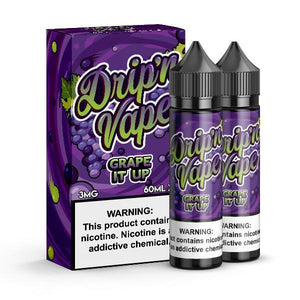 Drip'n Vape - Grape It Up Ejuice - 120ml - Ejuicesteals.com