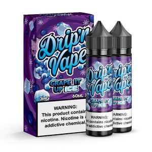 Drip'n Vape - Grape It Up On Ice Ejuice - 120ml - Ejuicesteals.com