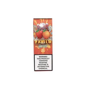 Killa Fruits Salt On Ice - Red Apple Peach Ejuice - 30ml - Ejuicesteals.com