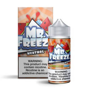 Mr. Freeze Menthol - Watermelon Frost Ejuice - 100ml - Ejuicesteals.com