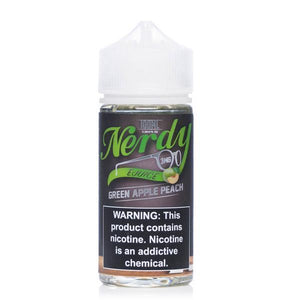 Nerdy - Green Apple Peach Ejuice - 100ml - Ejuicesteals.com