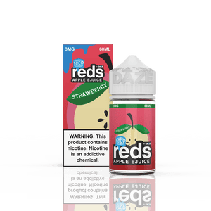 Reds Apple Ejuice Iced - Strawberry Apple Ejuice - 60ml - Ejuicesteals.com