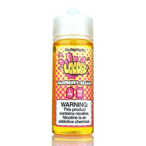 Loaded Eliquid - Raspberry Eclair Ejuice - 120ml - Ejuicesteals.com