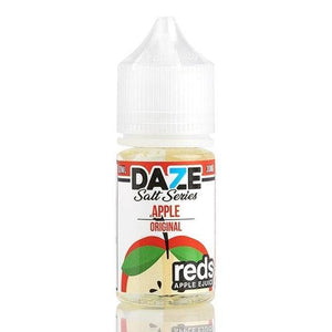 Reds 7 Daze Salt Series - Apple Ejuice - 30ml