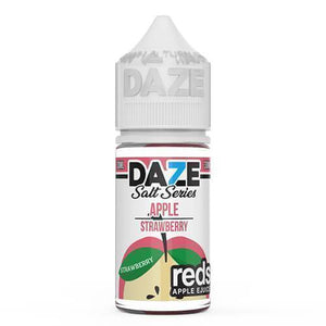 Reds 7 Daze Salt Series - Strawberry Ejuice 30Ml Nicotine