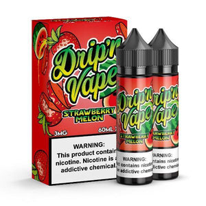 Drip'n Vape - Strawberry Melon Ejuice - 120ml - Ejuicesteals.com