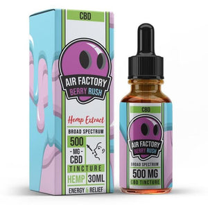 Air Factory CBD Tincture - Berry Rush - 30ml - Ejuicesteals.com