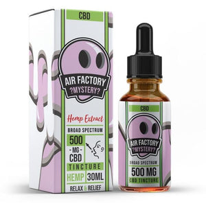 Air Factory CBD Tincture - Mystery - 30ml - Ejuicesteals.com
