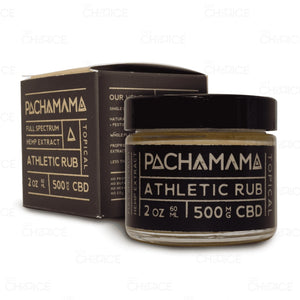 Athletic Cbd Rub By Pachamama - 500Mg / 2 Oz. (60Ml)