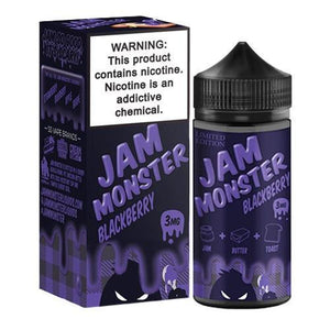 Jam Monster - Blackberry Ejuice - 100ml - Ejuicesteals.com