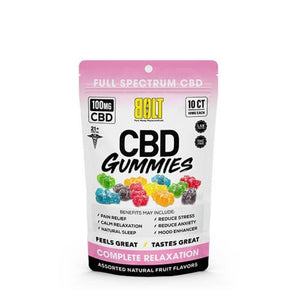 Bolt CBD Gummies 100mg- Assorted Flavors - 36g - Ejuicesteals.com