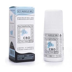 Icy Muscle Gel by Pachamama CBD 2oz - 500mg