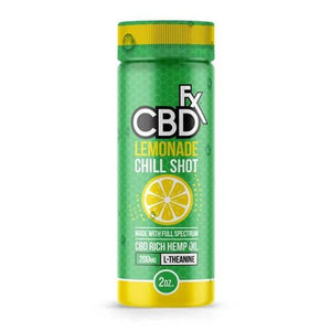 CBD FX Shot - 200mg Lemonade Chill Shot - 2oz - Ejuicesteals.com