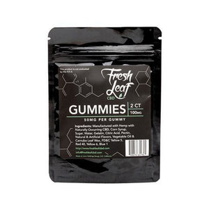 Fresh Leaf CBD - Gummies - 100mg - Ejuicesteals.com