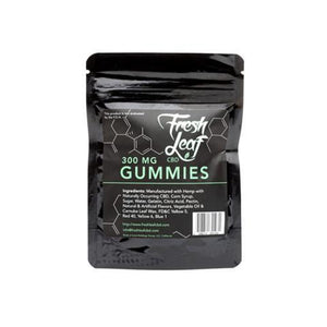Fresh Leaf CBD - Gummies - 300mg - Ejuicesteals.com