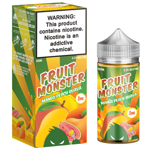 Fruit Monster - Mango Peach Guava Ejuice - 100ml - Ejuicesteals.com
