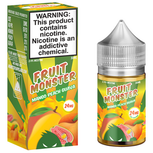 Fruit Monster Salt - Mango Peach Guava Ejuice - 30ml - Ejuicesteals.com