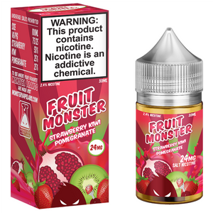 Fruit Monster Salt - Strawberry Kiwi Pomegranate Ejuice - 30ml - Ejuicesteals.com