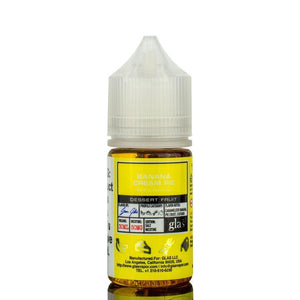 Glas Basix Nic Salts - Banana Cream Pie Ejuice - 30ml - Ejuicesteals.com