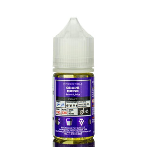 Glas Basix Nic Salts - Grape Drink Ejuice - 30ml - Ejuicesteals.com