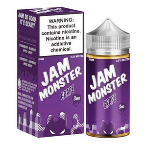 Jam Monster - Grape Ejuice - 100ml - Ejuicesteals.com