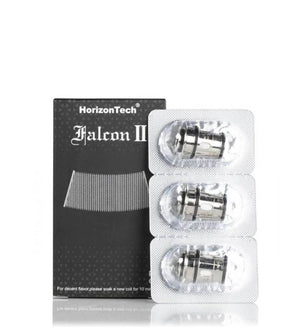 Horizon Falcon 2 Ii Tank Replacement Coils 3 Pack 0.14 Sector Mesh Coil (70-75W) Hardware