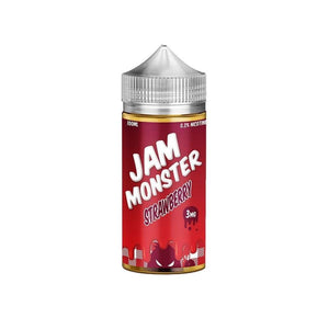 Jam Monster - Strawberry Ejuice 100Ml