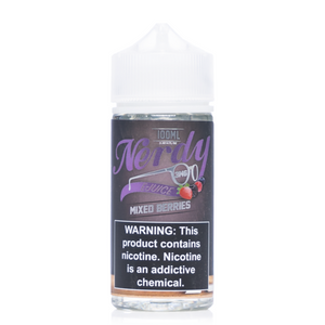 Nerdy - Mixed Berries Ejuice - 100ml - Ejuicesteals.com