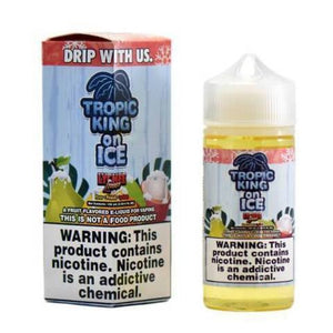 Lychee Luau Ice - Tropic King Clearance Ejuice 100Ml