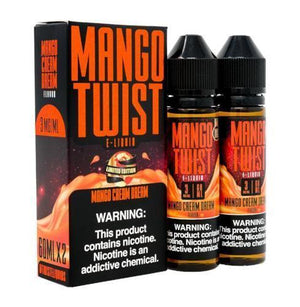 Mango Twist Eliquid - Mango Cream Dream Ejuice - 120ml - Ejuicesteals.com
